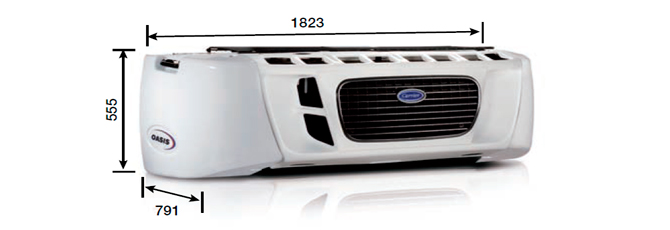 Carrier OASIS 150 (50°C)