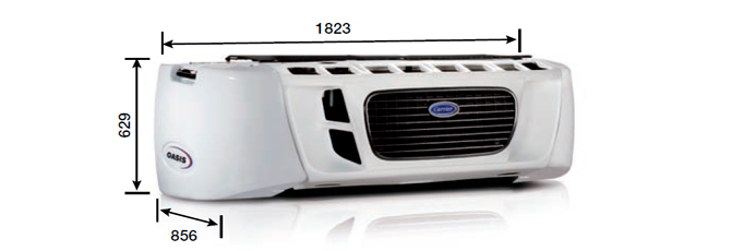 Carrier OASIS 250 (50°C)
