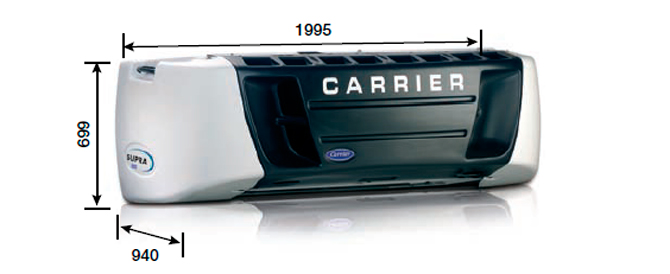 Carrier SUPRA 1000 CITY Z MT